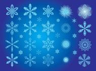 Snowflake Art vector free