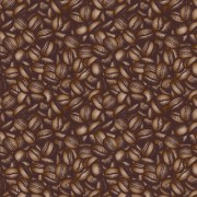 Creative coffee beans pattern vector grephics 04 free