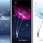 Dandelion banner vector graphic free