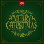 2014 Christmas floral frame background vector 02 free