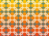 Retro Sixties Pattern vector free