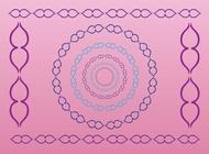 Decorative Border Graphics vector free