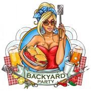 barbecue menu label creative vector 01 free
