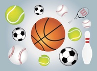 Ball Sports vector free