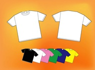 Colorful Shirts vector free
