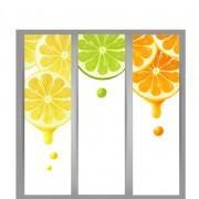 Creative lemon vector banners set free