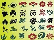 Plant amp Flower Graphics vector free