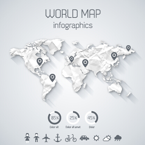 Creative world map and infographics vector graphics 03 free free creative world map and infographics vector graphics 03 free gumiabroncs Image collections