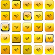 Creative arrows icons vectors pack set 03 free