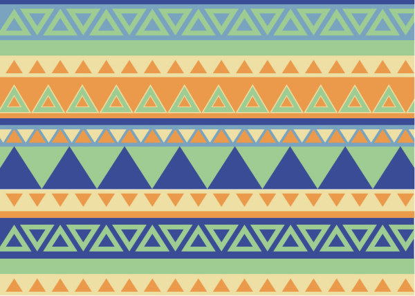 bohemian style pattern vector graphics free