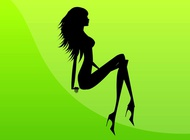 Sexy Girl Image vector free
