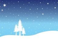 Snow Landscape vector free