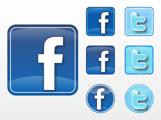 Facebook Twitter Vectors Free Free Download