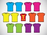 Girls T-Shirts Template Vectors free