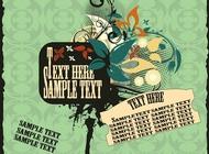 Retro Poster Template vector free