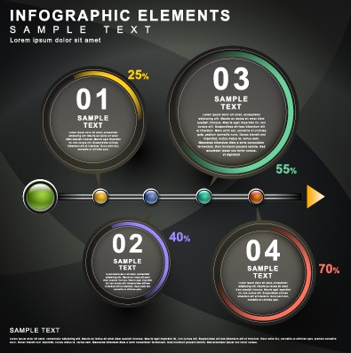 Business Infographic creative design 1024 free