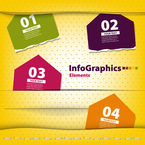 Business Infographic creative design 1072 free