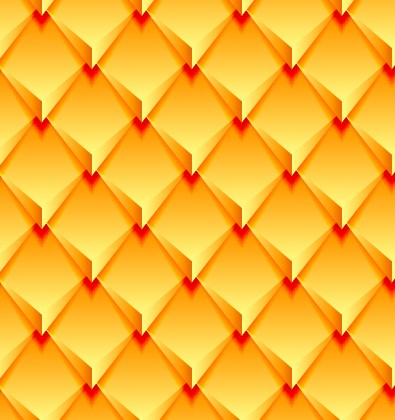 Creative pattern rhomb elements vector graphic 04 free