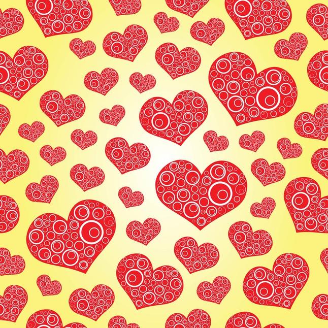 Free Heart Pattern vector