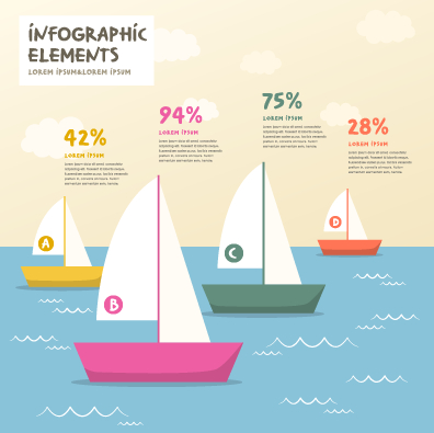 Business Infographic creative design 1272 free
