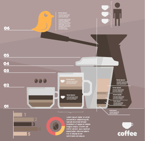 Business Infographic creative design 1430 free