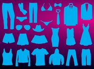 Clothing Vectors free