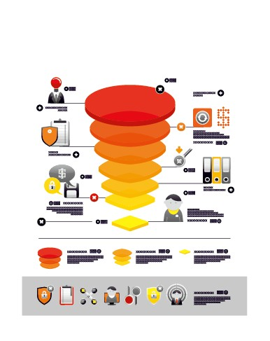 Business Infographic creative design 943 free