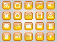 Computer Vector Icons free