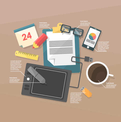Business Infographic creative design 1431 free