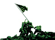 American Soldiers Graphics vector free