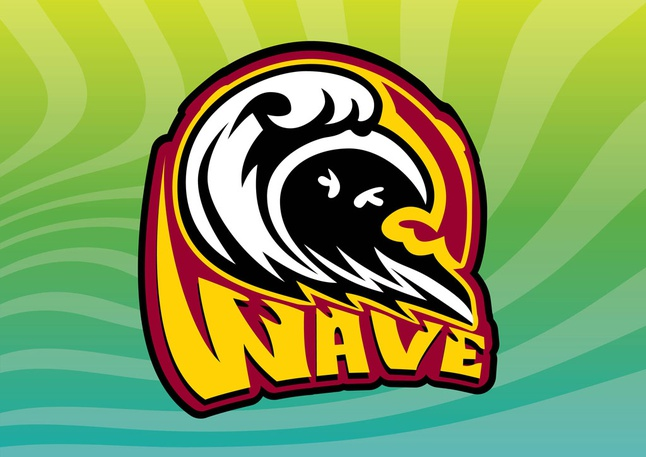 Wave Icon vector free