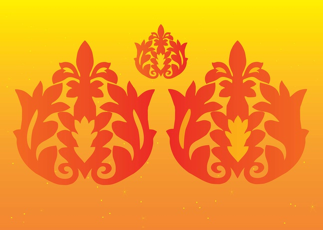 Floral Decoration Vectors free