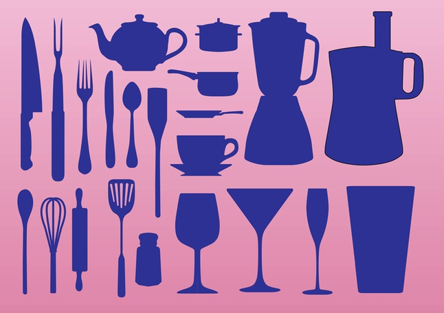 Kitchen Elements vector free