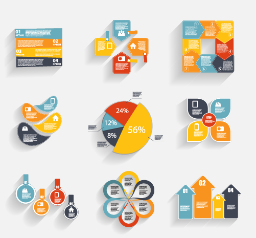 Business Infographic creative design 1112 free