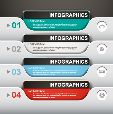 Business Infographic creative design 1158 free