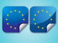 Europe Stars vector free