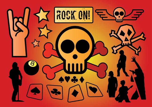 Rock Vectors free
