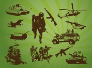 Free Army Stock Footage vector