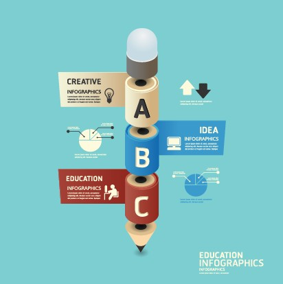 Business Infographic creative design 995 free