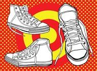Basketball Shoes vector free