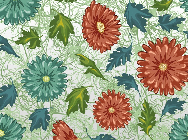 Floral Pattern vector free
