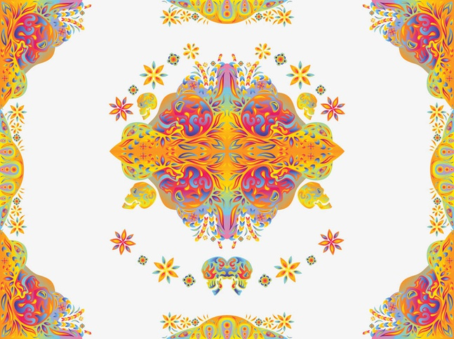Psychedelic Vector free