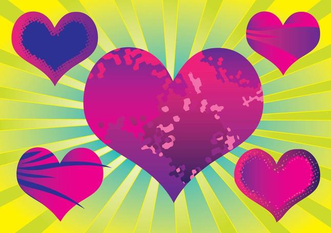 Purple Heart Vectors free
