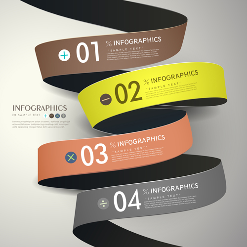 Business Infographic creative design 1377 free