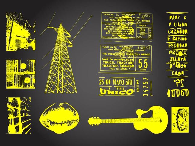 Grunge Designs vector free