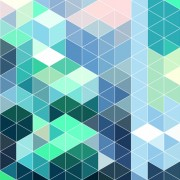 Bright triangles pattern vector background 04 free