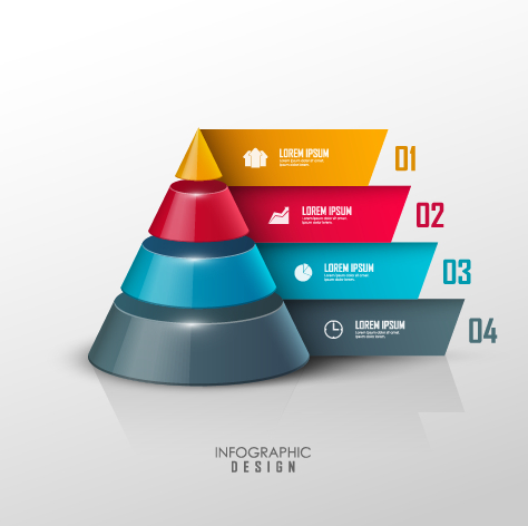 Business Infographic creative design 1172 free