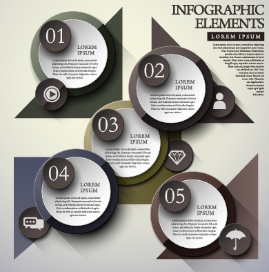 Business Infographic creative design 1253 free