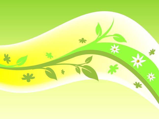 Plant Swoosh vector free
