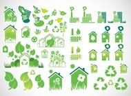 Environmental Icons vector free